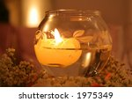 floating candle | Shutterstock . vector #1975349