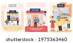 opening of catering... | Shutterstock .eps vector #1975363460