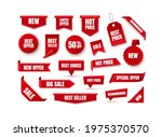 discount labels and tags. new...   Shutterstock .eps vector #1975370570