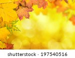 frame from vivid colorful... | Shutterstock . vector #197540516
