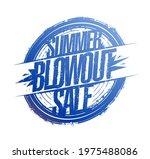 summer blowout sale vector... | Shutterstock .eps vector #1975488086