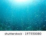 underwater bubbles | Shutterstock . vector #197550080