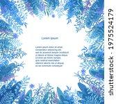 vector floral template. hand...   Shutterstock .eps vector #1975524179