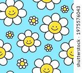 cute funny kawaii smile face...   Shutterstock .eps vector #1975576043
