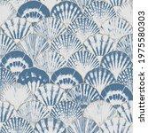 Watercolor Sea Shell Japanese...