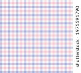 pink and blue pastel gingham....   Shutterstock .eps vector #1975591790