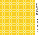 seamless pattern of lines.... | Shutterstock .eps vector #1975600076