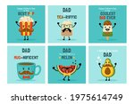 happy father's day greeting... | Shutterstock .eps vector #1975614749