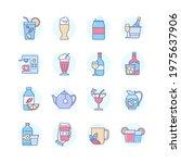 drinks   modern line design... | Shutterstock .eps vector #1975637906