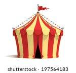 Circus Tent 3d Illustration