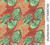abstract unusual decorative... | Shutterstock .eps vector #1975684760