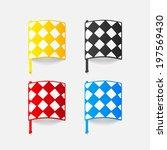 realistic design element ...   Shutterstock .eps vector #197569430