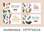 template design of shoe store's ...   Shutterstock .eps vector #1975716116