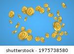 dogecoin gold coins explosion... | Shutterstock .eps vector #1975738580