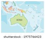 australia map   hand drawn...   Shutterstock .eps vector #1975766423