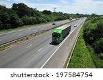 m23 motorway near gatwick... | Shutterstock . vector #197584754