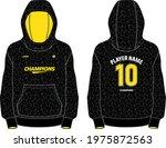 long sleeve hoodie jacket... | Shutterstock .eps vector #1975872563