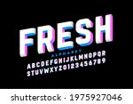three dimensional style font... | Shutterstock .eps vector #1975927046