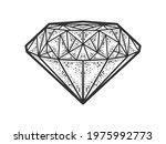 diamond brilliant sketch... | Shutterstock .eps vector #1975992773