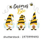 vector cartoon gnomes wearing a ... | Shutterstock .eps vector #1975999493