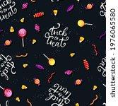 halloween candy seamless...   Shutterstock .eps vector #1976065580