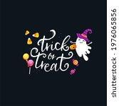 halloween candy design  hand...   Shutterstock . vector #1976065856