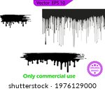 dripping paint drips background....   Shutterstock .eps vector #1976129000