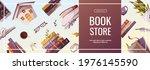 promo banner for bookstore ...   Shutterstock .eps vector #1976145590
