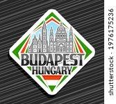vector logo for budapest  white ...   Shutterstock .eps vector #1976175236