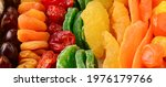 Set Of Fresh Colorful Dried...