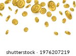dogecoin gold coins explosion... | Shutterstock .eps vector #1976207219