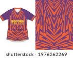 purple orange pattern geomteric ...   Shutterstock .eps vector #1976262269