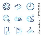 science icons set. included...   Shutterstock .eps vector #1976305739