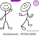 stick men   stick figures ... | Shutterstock .eps vector #1976312840