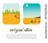 ecological nature | Shutterstock .eps vector #197635910