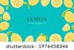 hand drawn lemon illustration... | Shutterstock .eps vector #1976458346