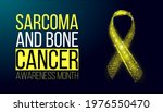 sarcoma and bone cancer... | Shutterstock .eps vector #1976550470