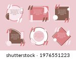 quote box frame set. text... | Shutterstock .eps vector #1976551223