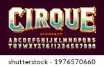 cirque  a french word meaning... | Shutterstock .eps vector #1976570660