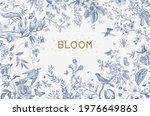 Greeting Card. Bloom....