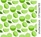 lemon fruits seamless pattern....   Shutterstock .eps vector #1976666783