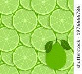 lemon fruits seamless pattern....   Shutterstock .eps vector #1976666786