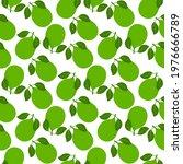lemon fruits seamless pattern....   Shutterstock .eps vector #1976666789