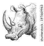Artwork Rhinoceros  Sketch...