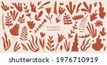 vector set of exotic palm...   Shutterstock .eps vector #1976710919