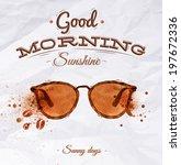 Poster Spot Glasses Lettering...