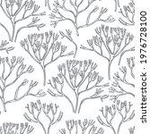 hand drawn edible  algae.... | Shutterstock .eps vector #1976728100