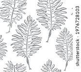 hand drawn edible  algae.... | Shutterstock .eps vector #1976728103