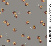 seamless pattern with shells.... | Shutterstock .eps vector #1976770430