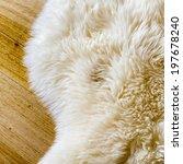Lambs Wool Sheepskin On A...